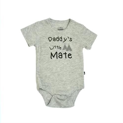 בגד גוף שרוול קצר Daddy's Little Mate