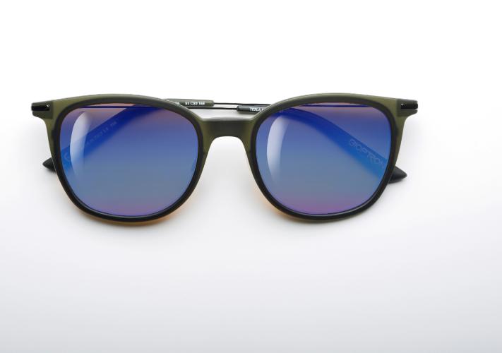 משקפי היפרלייט (נגד קרינה) עם אפקט מראה דגם THE-0102GN, MRBU צבע ירוק