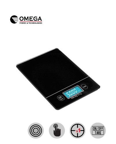 משקל מטבח מסך מגע מואר Omega OM863