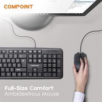 סט מקלדת ועכבר USB בשפות: עברית/ אנגלית