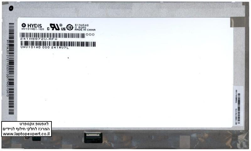 החלפת מסך לטאבלט HYDIS  HV101HD1-1E0 LCD screen 10.1 inch LED 1366x768 WXGA HD