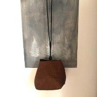 עותק של תיק צד יפני בצבע חמרה