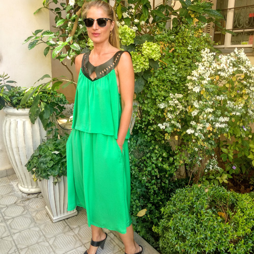 סט LAYLA ירוק