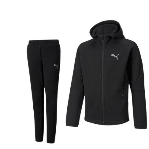 חליפת ספורט שחורה  PUMA