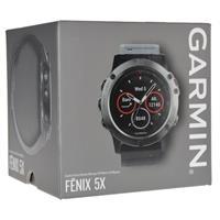 שעון דופק Garmin Fenix 5X Sapphire with Black Band