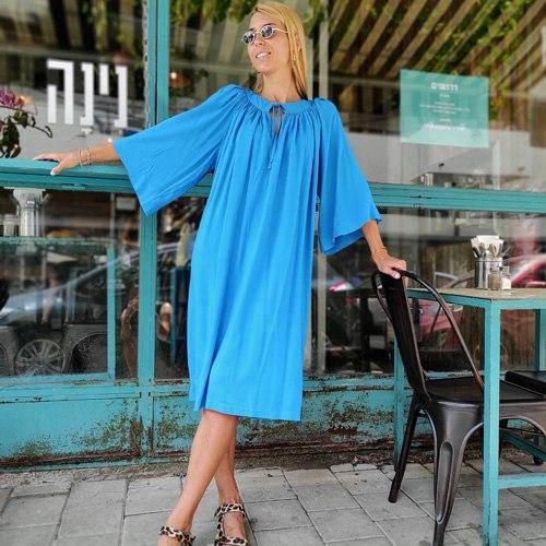שמלת אגם - טורקיז