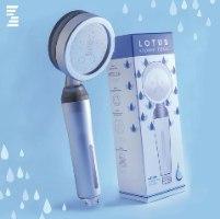 מרכך מים ביתי (ראש מקלחת לוטוס), דגם WTS-001SL צבע כסף