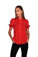 חולצה בתאל אדומה