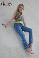 אוברוול ג'ינס שליץ צד