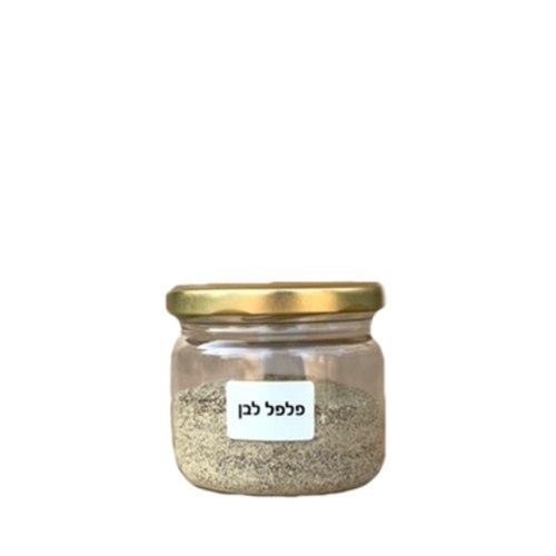 צנצנת פלפל לבן 100 גרם