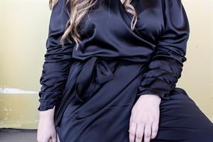 שמלת ורה שחור