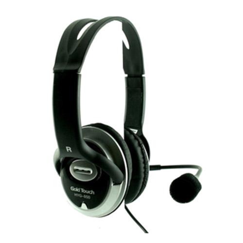 אוזניות חוטיות Gold Touch HYG800