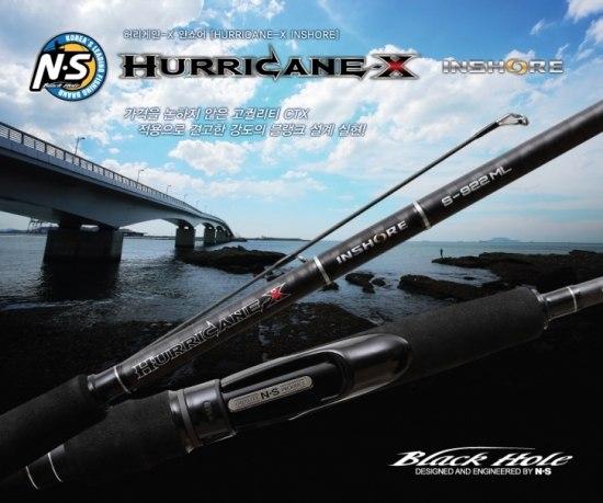 Hurricane X inshore