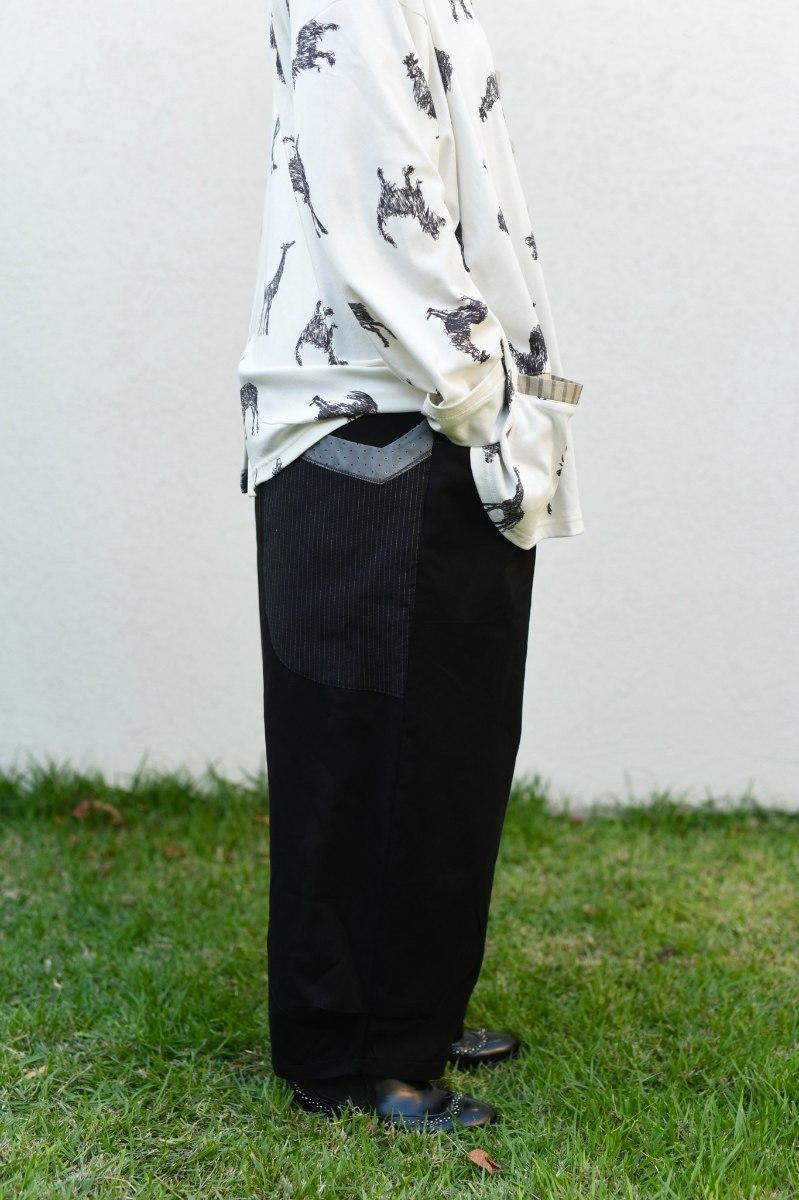 מכנסיים מדגם ג׳וזף בצבע שחור
