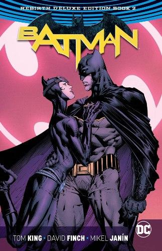 Batman Rebirth Deluxe Edition HC Book 2