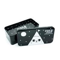 קופסת אחסון פח - הר חתול