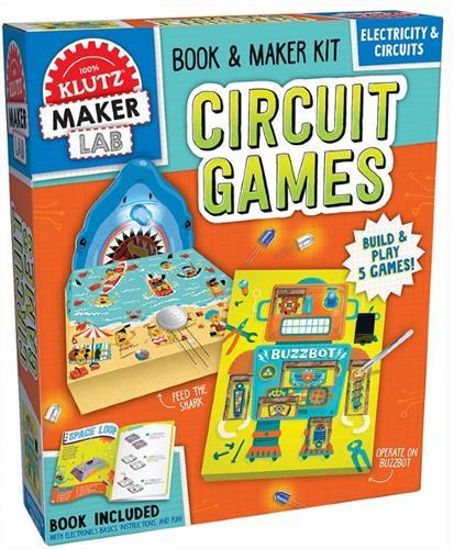משחקים במעגל חשמלי- KLUTZ