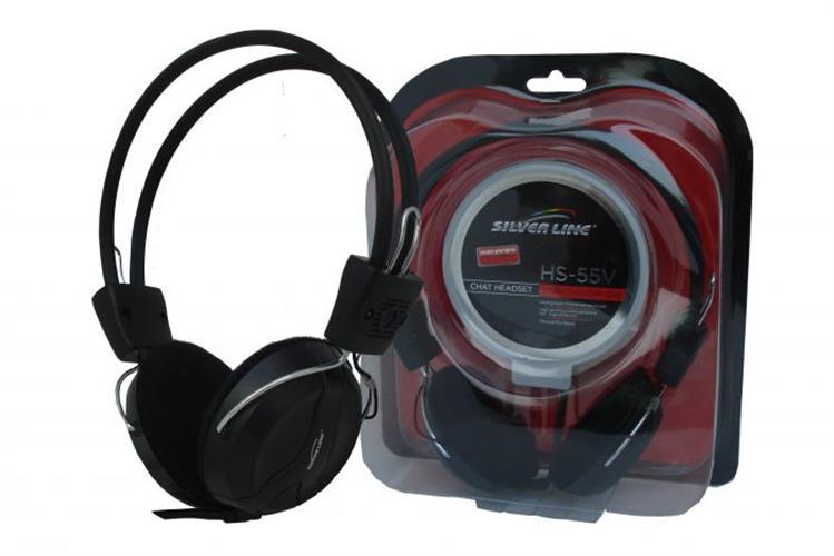 אוזניות+מיקרופון HS-55V