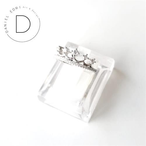 טבעת כתר נסיכה- כסף 925