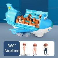 מטוס חשמלי לילדים - מסתובב 360 מעלות