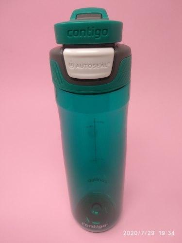 בקבוק שתיה בצבע טורקיז Contigo AUTOSEAL® Chug 720ml
