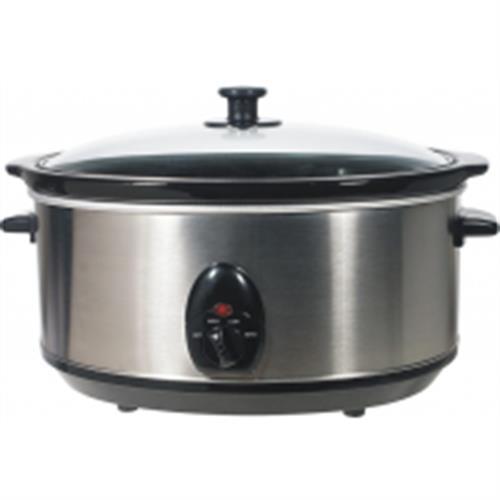 סיר בישול איטי 6.5 ליטר נירוסטה מבית FIX דגם NSC-650
