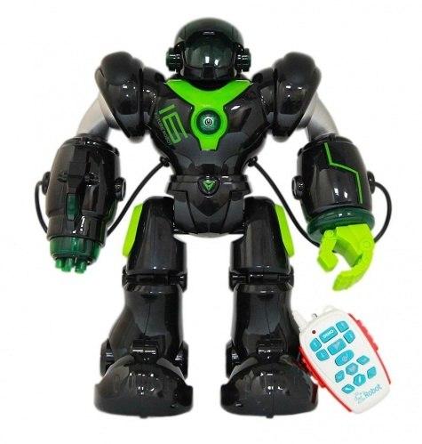 """רובוקופ רובוט ענק 35 ס""""מ - ניתן לתכנות ויורה טילים"""