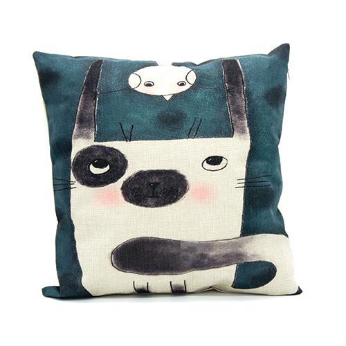 כרית נוי Wondering dog
