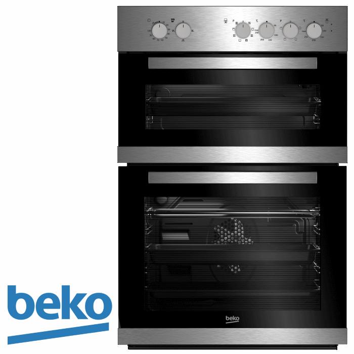 תנור בנוי דו תאי מהדרין beko דגם: BKDM-22100X