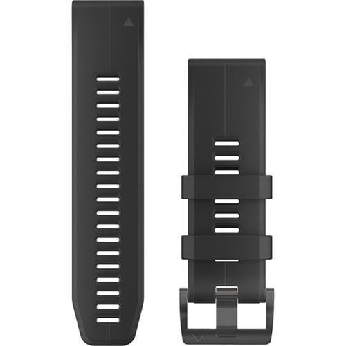 רצועה שחורה מקורית לשעון Garmin Fenix 5X QuickFit 26 Watch Bands