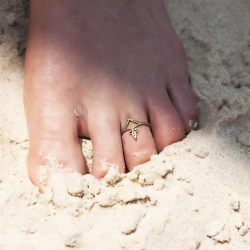 טבעת רגל מאגיה בראס