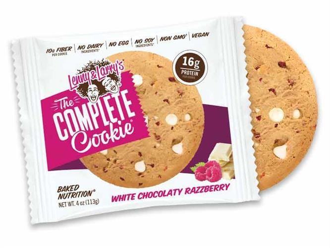עוגיות חלבון lenny & larry's שוקולד לבן ופטל| כשר טבעוני