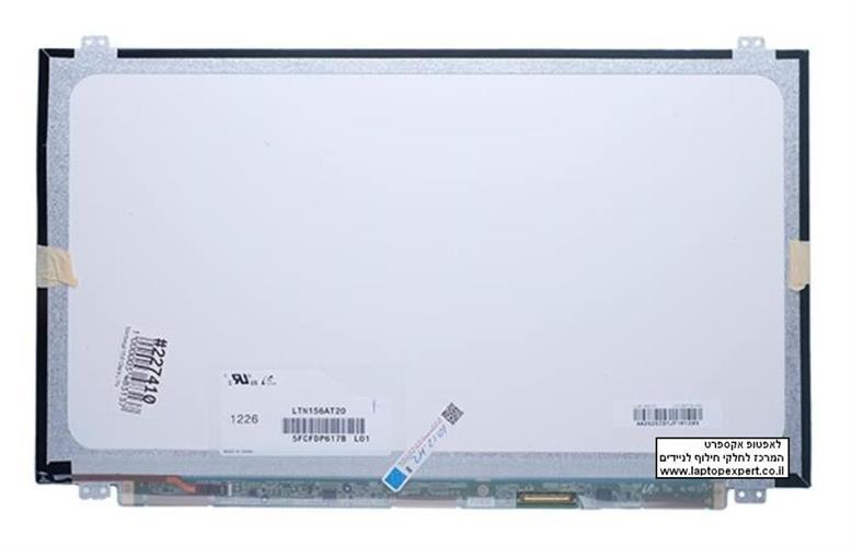 מסך / צג להחלפה במחשב נייד Samsung LTN156AT20 Slim 15.6 WXGA HD laptop LCD screens