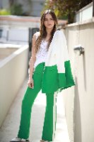 מכנס פדלפון ירוק