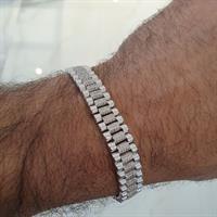 צמיד יהלומים לגבר