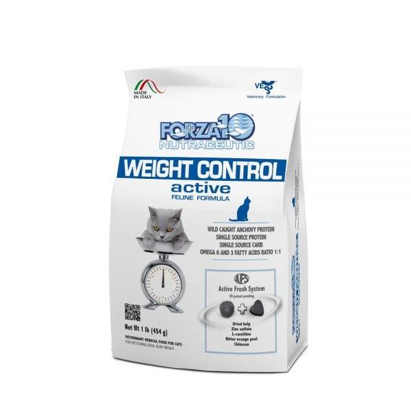 מזון לחתולים אקטיב WEIGHT CONTROL מ 454 גרם