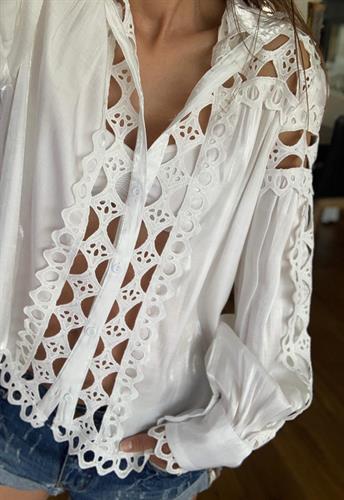 חולצת תחרה מארי