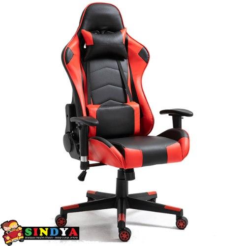 כסא גיימרים PROJECT ALPHA - אדום