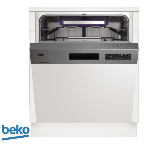 beko מדיח רחב חצי אינטגרלי דגם: DSN28320X מתצוגה !