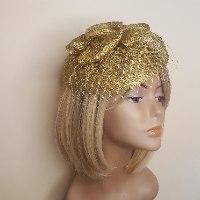 כובע מעוצב על קשת - דגם צדף