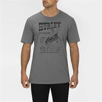 HURLEY SURF AND SADDLE S/S