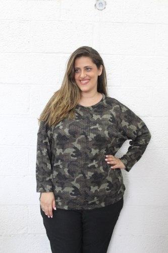 חולצת שנון צבאי ירוק