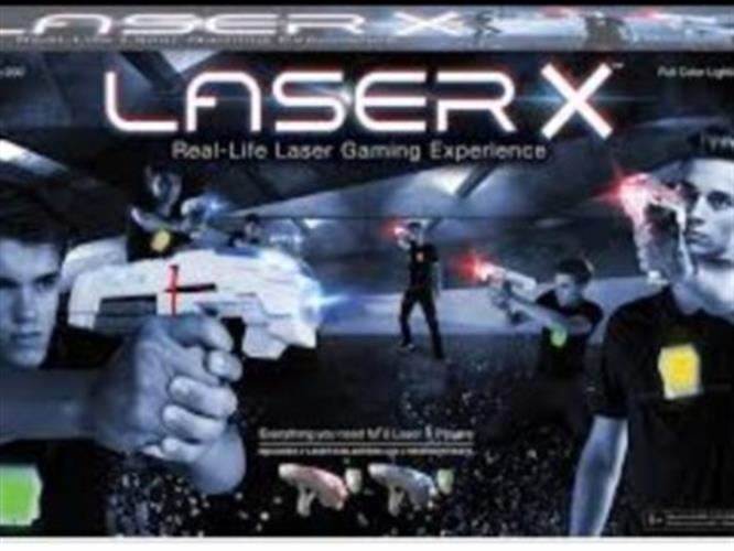קרב לייזר טאג laser x