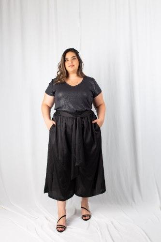 מכנסיי קימי שחור