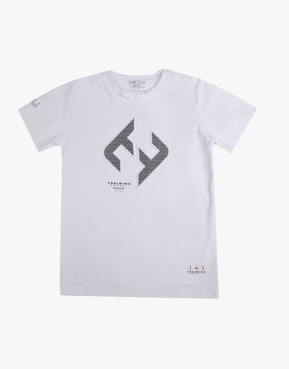 חולצת טריקו בנים עם הדפס בולט