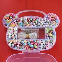 ערכה להכנת תכשיטים (380 חלקים)