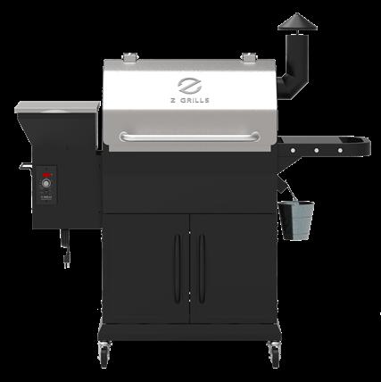 מעשנת פלט ZPG-1000E + מד טמפ'