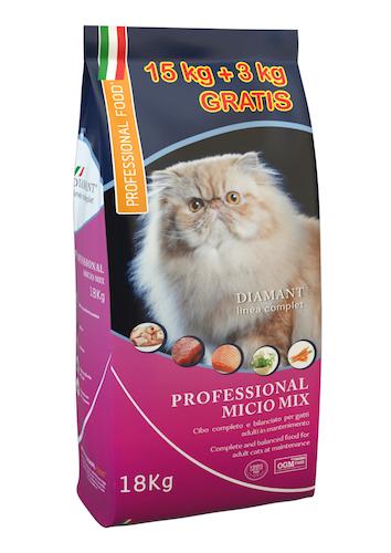 מיסיו מיקס 18 ק״ג מזון לחתולים