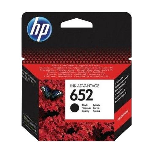 ראש דיו שחור מקורי HP 652