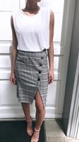 חצאית אנבל משובץ